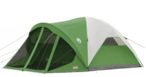 camping tent with porch